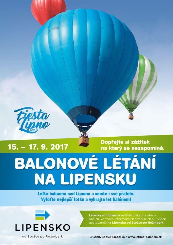 Balónové létání na Lipensku 1
